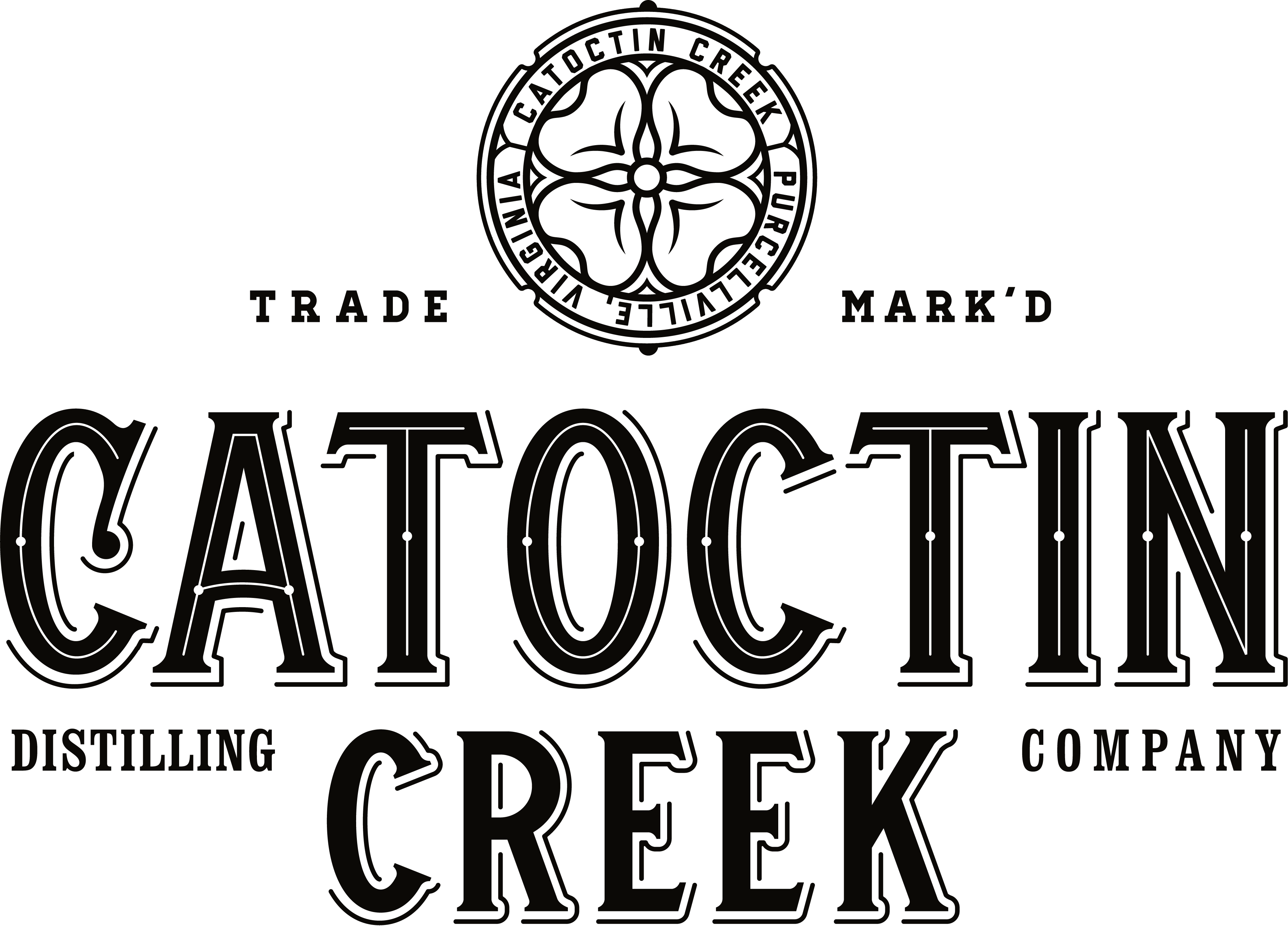 Roundel of Catoctin Creek Distillery, Purcellville, Virginia